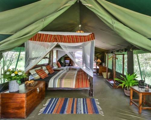 Tented Camp in der Massai Mara