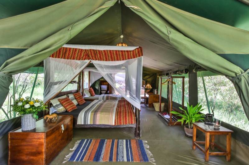 Tented Camp in Maasai