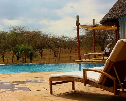 Tented Camp in der Masai Mara Kenia