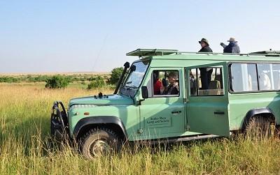 Geländewagen Maasai Mara