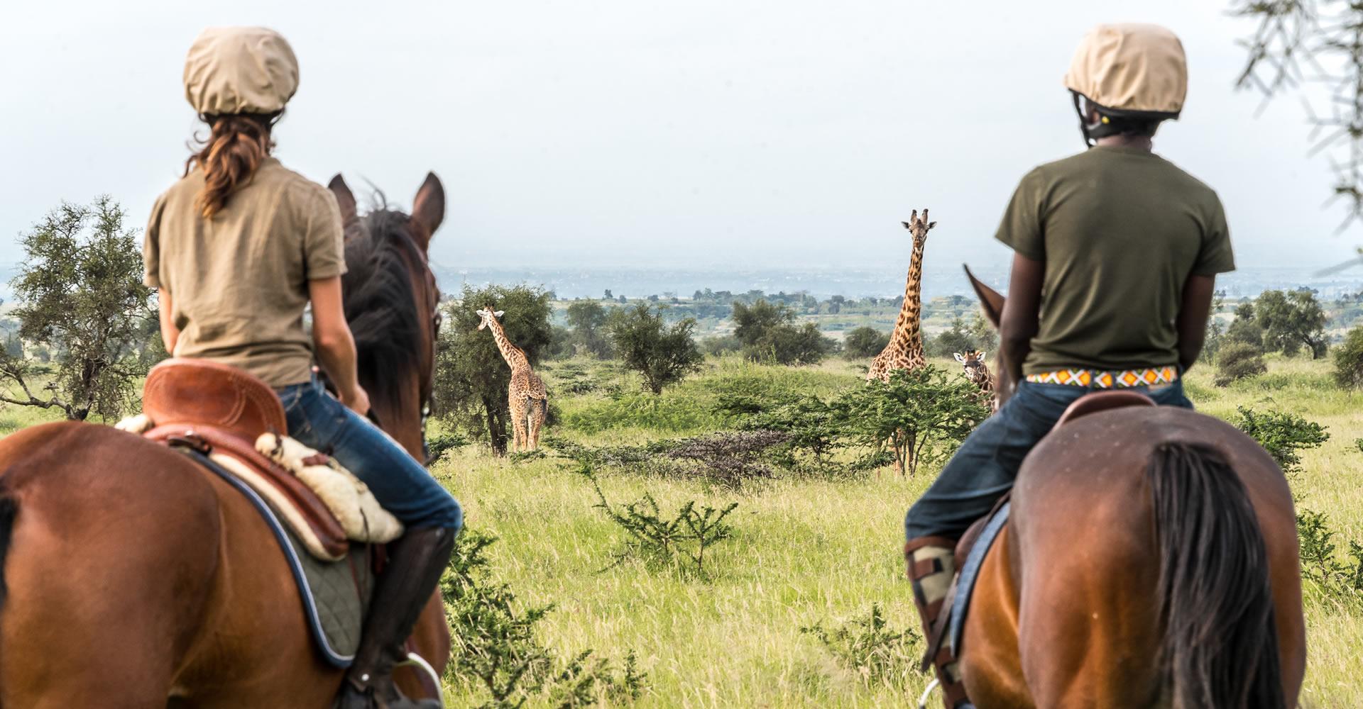 Reiten Masai Mara